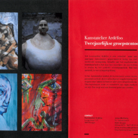 Groepstentoonstelling Kunstatelier Ardéfoo