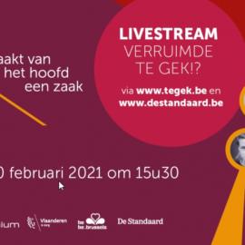 Op 10 februari 2021 plaatst Te Gek!? een gigantische Te Gekke muts bovenop het Atomium!