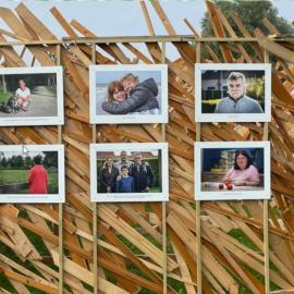 Fotografen portretteren bewoners Sint-Pietersmolenwijk